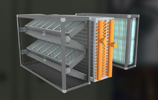Air Cleaning Units : Air handler options trane commercial